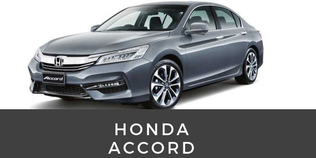 Honda Accord - best selling used cars in kenya