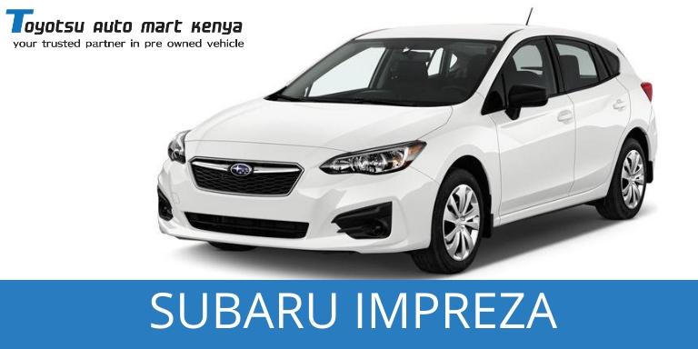 Subaru Impreza Used Japanese Car for sale Kenya