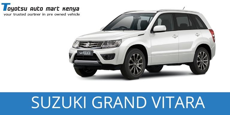 Suzuki Grand Vitara Used Japanese Car Kenya