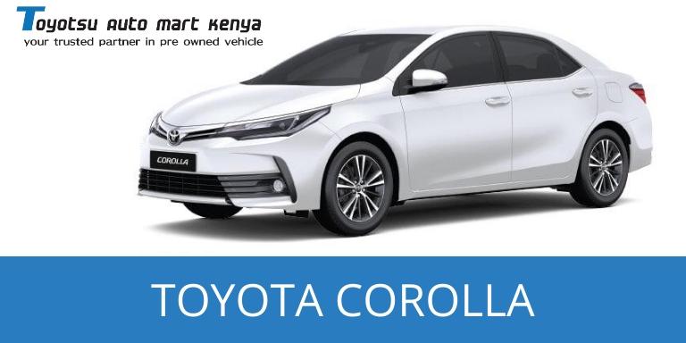 Toyota Corolla - Used Japanese Car in Kenya