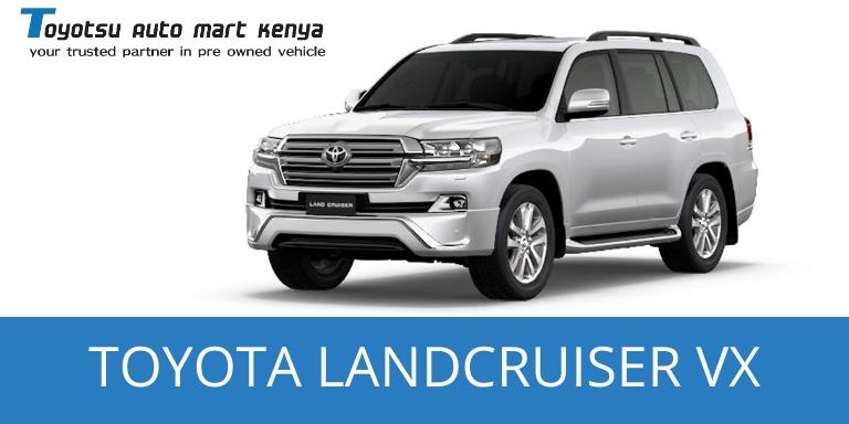 Toyota Landcruiser VX - Japanese Used Car for Sale kenya