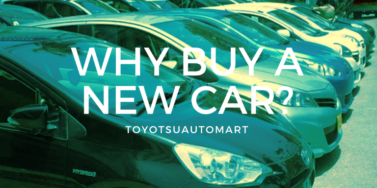 advantages of buy a new car in nairobi