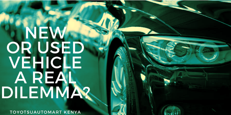 buy a new or used vehicle kenya