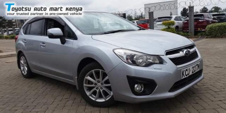 Subaru Impreza - Best Selling Used Japanese Cars Kenya
