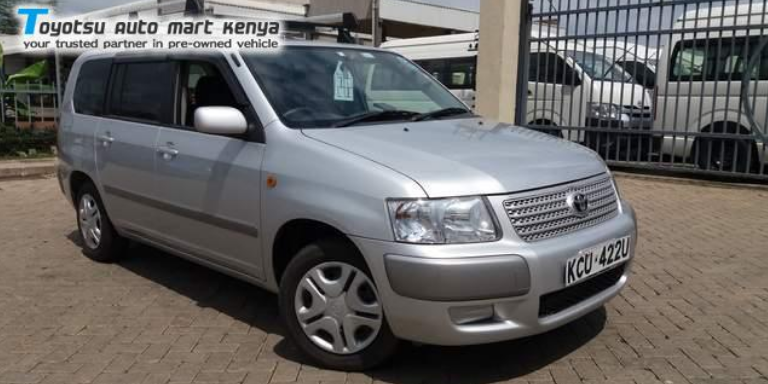 Toyota Succeed - Best Pre Owned Cars for Kenyans