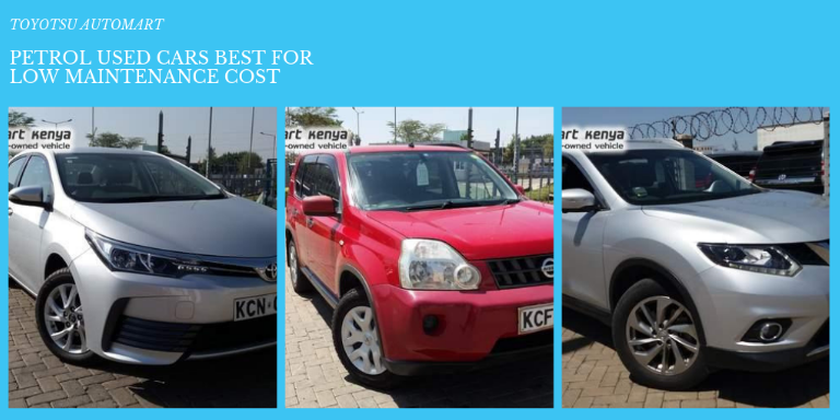 low maintenance petrol used cars