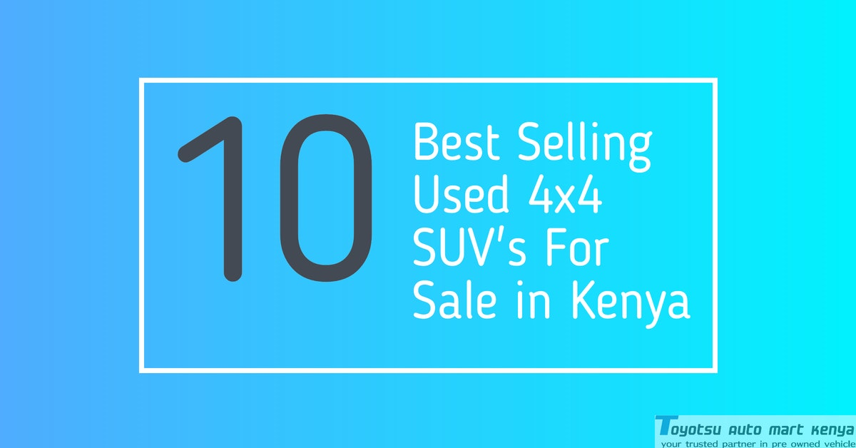 Used SUV For Sale in Kenya