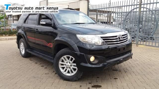 Toyota Fortuner - Used 4x4 suv for sale Kenya