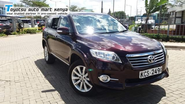Toyota Vanguard 2WD - Top 5 affordable SUV in Kenya