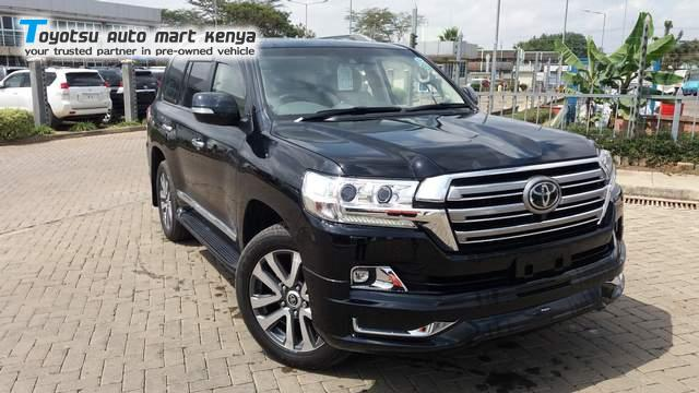 Used Toyota Landcruiser VX - Top 5 affordable SUV in Kenya